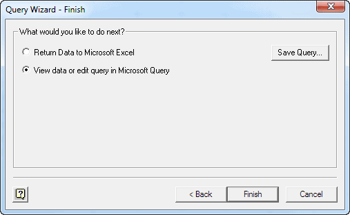 Excel-2010-Data-Other-Data-Sources-Select-Microsoft-Query-Wizard-Finish-Screenshot