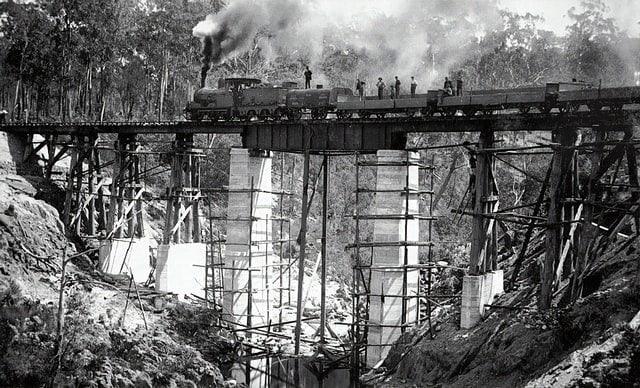 Railroad Trains Era of the Brakemen